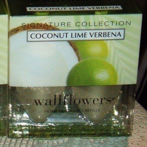 Bath & Body Works Slatkin & Co. COCONUT LIME VERBENA Wallflowers Home Fragrance