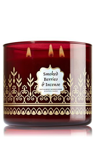 1 X Smoked Berries & Incense 3-Wick Scented Candle