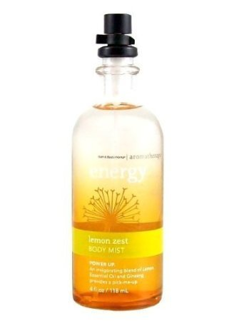 Aromatherapy Energy Lemon Zest Body Mist Bath & Body Works 4 Oz
