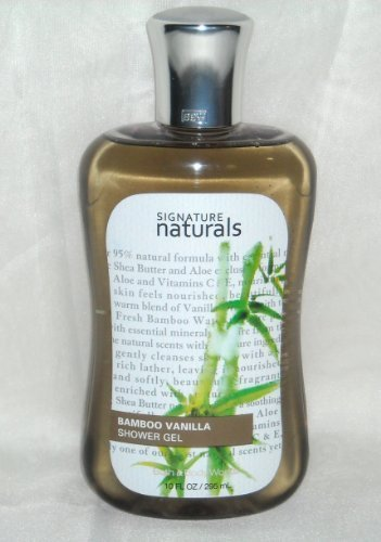 Bath & Body Works Signature Naturals Bamboo Vanilla Shower Gel - Full Size