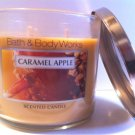 Bath & Body Works 14.5 Oz. 3-wick Candle Caramel Apple