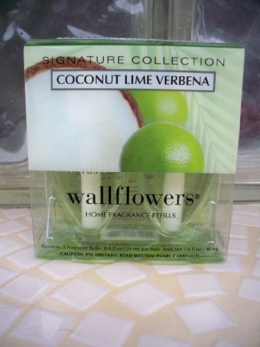 Bath and Body Works Signature Collection Coconut Lime Verbena Wallflowers Home F