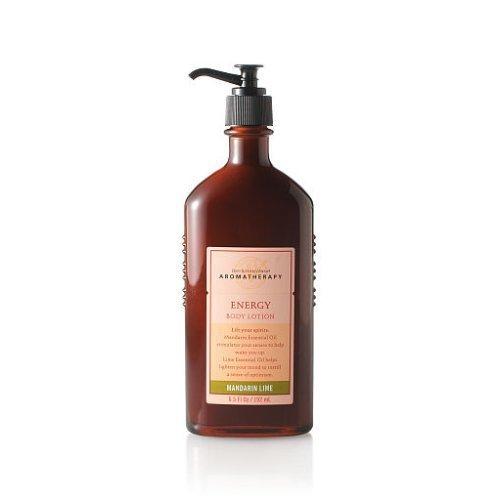 Bath & Body Works Original Aromatherapy Mandarin Lime Energy Body Lotion 6.5 fl