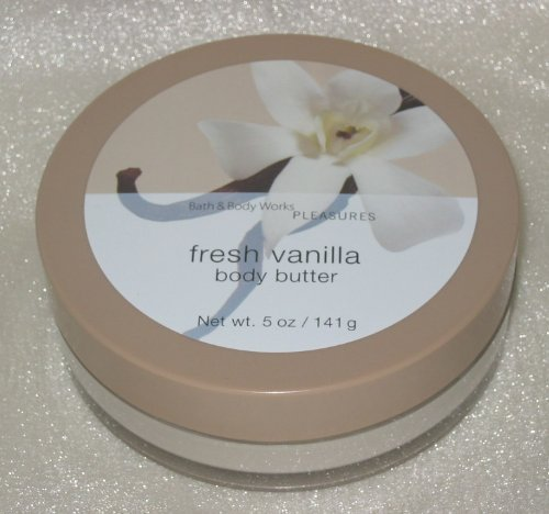 Bath and Body Works Fresh Vanilla Body Butter, 5 fl oz (Discontinued!)