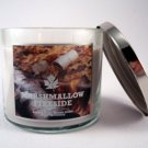 Bath & Body Works Marshmallow Fireside 14.5 Oz 3 Wick Candle