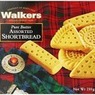 Walkers Shortbread Assorted, 8.8 oz. Boxes, Pack of 6