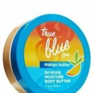 Bath & Body Works True Blue Spa 24 Hour Moisture Mango Body Butter 7 oz - Lot of