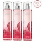 Lot of 3 Bath & Body Works Cherry Blossom Fine Fragrance Mist 8 Fl Oz Each (Cher