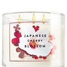 Bath & Body Works Signature Collection Saltkin & Co Japanese Cherry Blossom 3 Wi