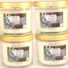 White Barn Fresh Balsam Scented Candle 4 Oz - Set of 4