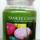Yankee Candle 22 oz Large Jar Candle 2015 Limited Edition EASTER EGG HUNT (Kiwi