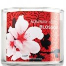 Bath and Body Works 3-wick Candle Japanese Cherry Blossom 14.5 Oz.