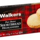 Walkers Shortbread Highlanders, 4.7-Ounce Boxes (Pack of 4)