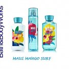 "Bath & Body Works"""" Maui Hibiscus Beach """" Gift Set Body Lotion , Shower Gel & Fra"