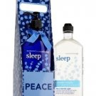 Bath and Body Works Aromatherapy Village Carrier Sleep - Lavender Vanilla Body L