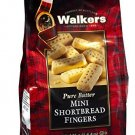 Walkers Shortbread Mini Fingers, 4.4-Ounce (Pack of 6)