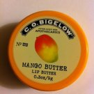 C.O. Bigelow Nourishing Lip Butter Mango Butter .3 oz