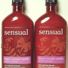 Bath & Body Works Aromatherapy Black Currant Vanilla Body Lotion Twin-pack - 6.5