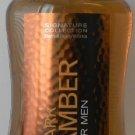 Bath & Body Works Dark Amber for Men 2 in 1 Hair and Body Wash 10oz