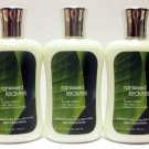 Lot of 3 Bath & Body Works Body Lotion (Rainkissed Leaves)
