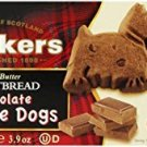Walkers Shortbread Chocolate Scottie Dogs Shortbread, 3.9 oz.