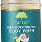 Tree Hut Shea Moisturizing Body Wash, Coconut Lime, 17 Fluid Ounce