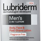 Lubriderm Lubriderm Men's 3in1 Lotion, Body, Face and Postshave Lotion, Fragranc