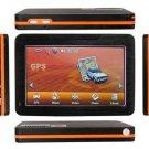 4.3 Inch LCD 372MHz Windows CE 6.0 +GPS Navigation System FM Transmitter+2GB Maps SD