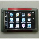 5 Inch Car GPS Navigation System MP3 MP4 FM Transmitter Bluetooth A/V In MAP with 2GB MicroSD