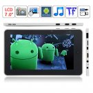 Apad ARM11 Android 2.2 Telechips 8902 Dual Core 720Mhz DDR 2 256M WiFi 3G G-SENSOR 7-inch Tablet PC