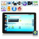 Android 2.2 Tablet PC-7 inches TFT Capacitive Multi-touch LCD  M7013B
