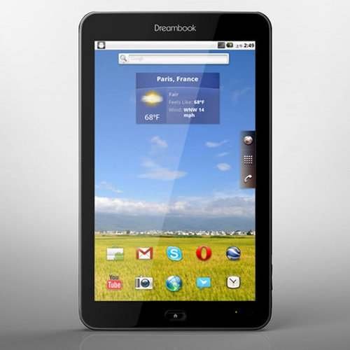 Dreambook W7 Android 2.2 Tablet PC, Cell Phone, GSM, WCDMA, Wifi, 7 Multi-touch Capacitive Screen