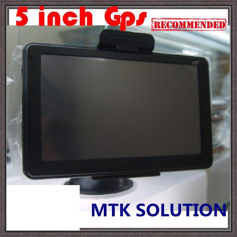 5 Inch Gps Navigation 5626,MTK 3351 468MHz,Bluetooth +AV IN+FM