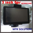 5 Inch Gps Navigation 5626,MTK 3351 468MHz,Bluetooth +AV IN+FM