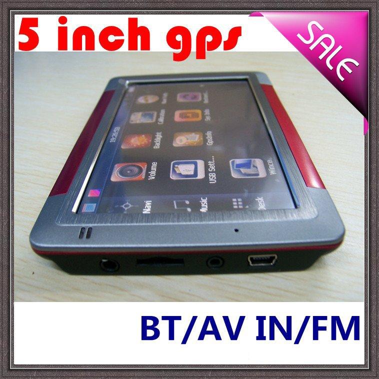 5 Inch Gps Navigation 5623