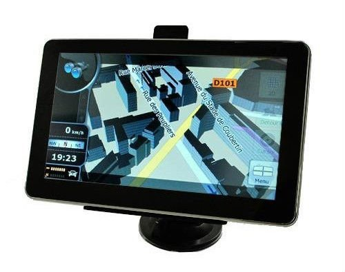 7 Inch Bluetooth Gps Navigation system with maps