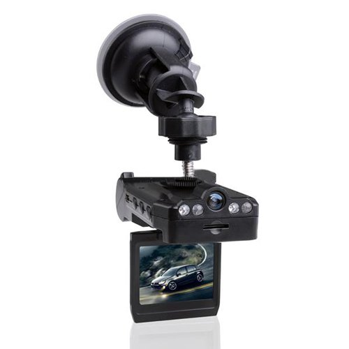 Dual Cameras Vehicle Synchronous Recorder Car Blackbox - X1000