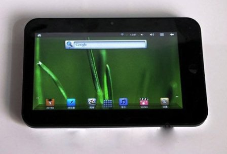 7 Inch Android 2.3 Tablet PC with Vimicro 1GHz CPU, 512MB RAM - V7