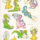 Dragon stickers 1983 Hallmark
