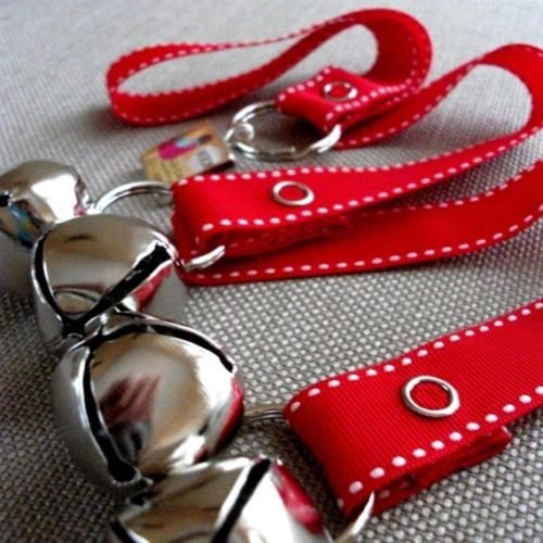 Dog House Training Bells-Red