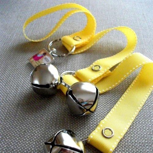 Dog House Training Bells-Yellow