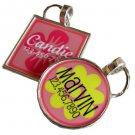 Girly Flower Custom Pet ID Tag