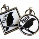 Black Bird Pet ID Tag