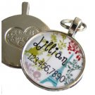 Paris in the Spring Custom Graphic Pet ID Tag