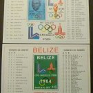 Belize 1981 SC 561-562  MNH Olympics Torch Rings