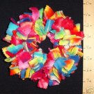 X-SMALL BIRDIE BINKIE RING TIE-DYE bird toy parrot toys