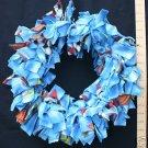 LARGE BIRDIE BINKIE RING - BLUE -  bird toy parrot toys