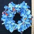 MEDIUM BIRDIE BINKIE RING -BLUE -  bird toy parrot toys