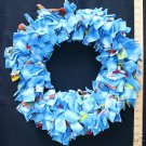 X-LARGE BIRDIE BINKIE RING BLUE bird toy parrot toys