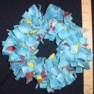SMALL BIRDIE BINKIE RING BLUE - bird toy parrot toys